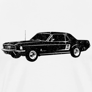 1967 Ford Mustang Coupe - Men's Premium T-Shirt