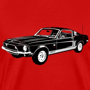 1968 Ford Mustang Shelby GT 500KR - Men's Premium T-Shirt