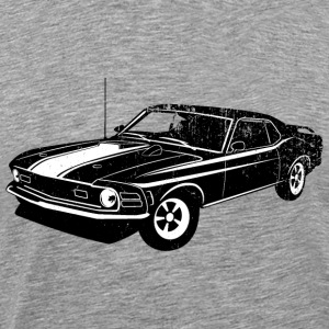 1970 Ford Mustang Mach 1 428 - Men's Premium T-Shirt