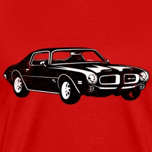 1970 Pontiac Firebird 400 Ram Air - Men's Premium T-Shirt