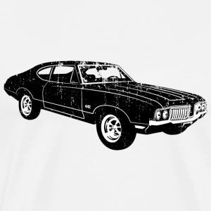 1970 Oldsmobile 442 - Men's Premium T-Shirt