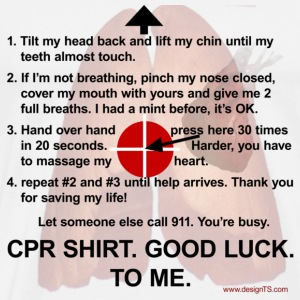 CPR Shirt #2 - Men's Premium T-Shirt