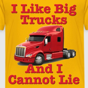 I Like Big Trucks & I Cannot Lie Kids' Shirts - Kids' Premium T-Shirt