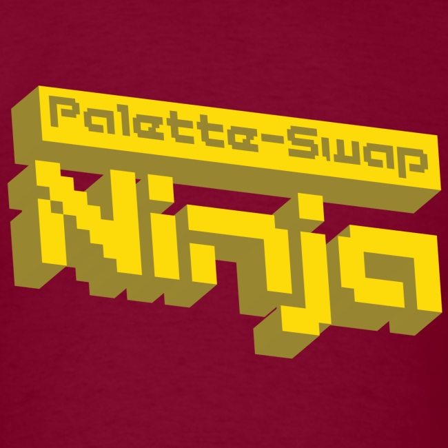 Palette-Swap Ninja - Logo Yellow