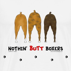 Nothin' Butt Boxers T-shirt