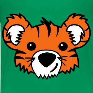 Kelly green Tiger Cub Kids' Shirts - Kids' Premium T-Shirt