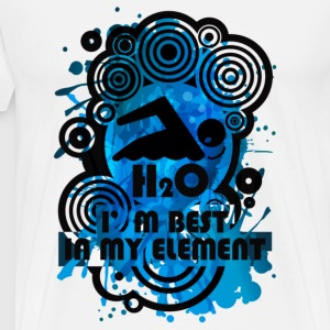 H2O_SWIMMER - Men's Premium T-Shirt