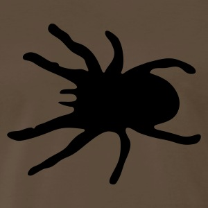 Chocolate TARANTULA spider T-Shirts - Men's Premium T-Shirt
