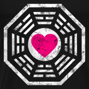 Dharma Love Heart - Men's Premium T-Shirt