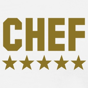 chef 5 star T-Shirts - Men's Premium T-Shirt