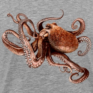 Paul The Octopus 02 - Men's Premium T-Shirt