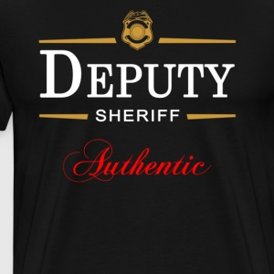 Authentic Deputy Sheriff - Men's Premium T-Shirt