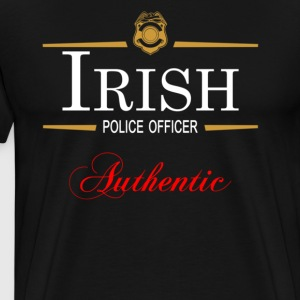 Authentic Irish Police Officer - Men's Premium T-Shirt