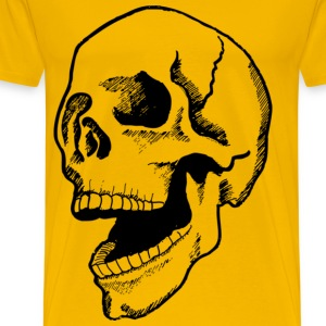 giant skull - Men's Premium T-Shirt