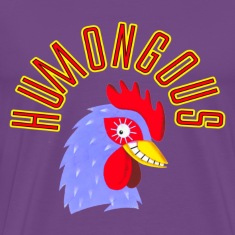 Purple Humongous Cock T-Shirts