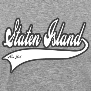 staten island new york T-Shirts - Men's Premium T-Shirt
