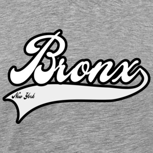bronx new york white T-Shirts - Men's Premium T-Shirt