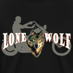 Lone Wolf Tee for Dark Colors