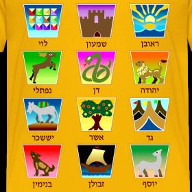 Design ~ The Twelve Tribes of Israel