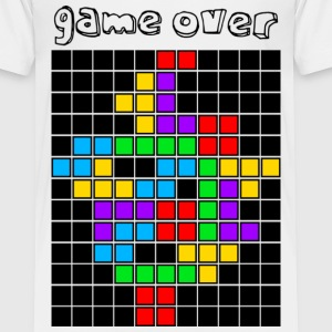 White tetris_game_over5 Toddler Shirts - Toddler Premium T-Shirt