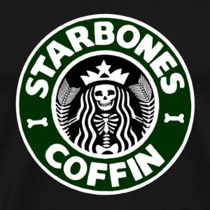 Starbones Coffin T-Shirts - Men's Premium T-Shirt