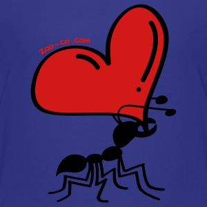 Ant Carrying the Love's Heart Kids' Shirts - Kids' Premium T-Shirt