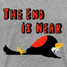 Falling Birds The End Is Near T-Shirts