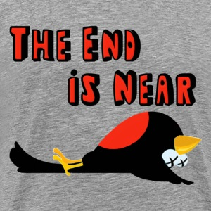 Falling Birds The End Is Near T-Shirts - Men's Premium T-Shirt