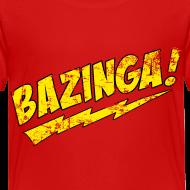 Design ~ BAZINGA T-Shirt Sheldon Toddler T-Shirt