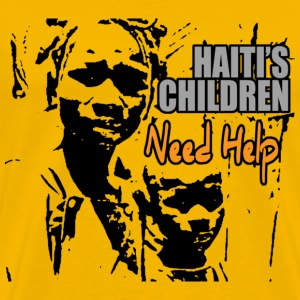 Haiti's Children Need Help - Men's Premium T-Shirt