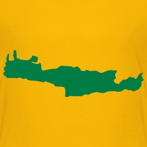 Yellow Crete - Greece Kids' Shirts - Kids' Premium T-Shirt