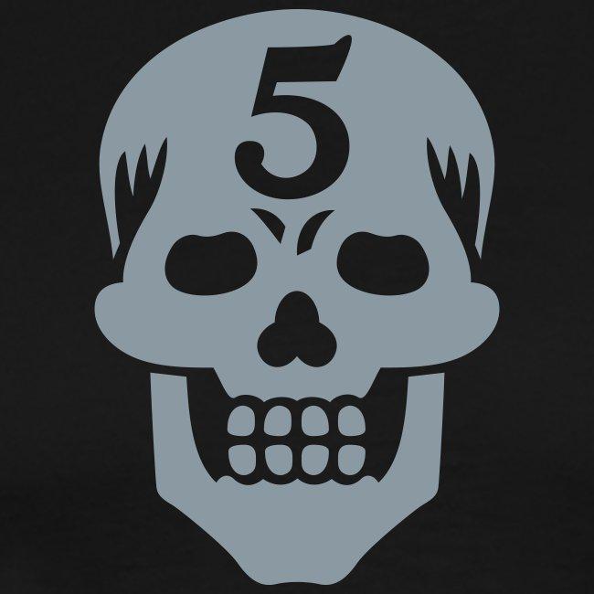 Operator 5 Skull Metallic Tee (3XL)