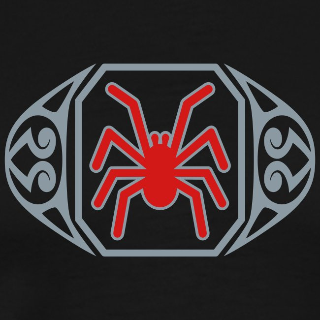 The Spider Ring Metallic Tee (3XL)