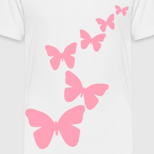 White butterfly Toddler Shirts - Toddler Premium T-Shirt