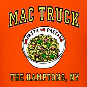 Orange Mac Truck Royal Pains T-Shirts - Men's T-Shirt