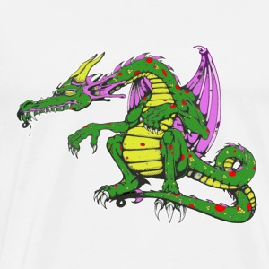 Big Boy Dragon - Men's Premium T-Shirt