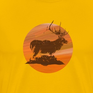 Elk Hunt - Men's Premium T-Shirt