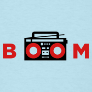 Design ~ bOOmbox - Choose your own light shirt color