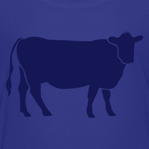 Royal blue COW BEEF one color Kids' Shirts - Kids' Premium T-Shirt