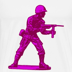 pink soldier - Men's Premium T-Shirt
