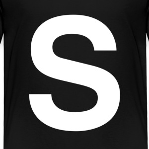 helvetica S Toddler Shirts - Toddler Premium T-Shirt