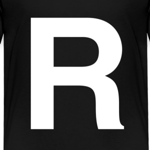 helvetica R Toddler Shirts - Toddler Premium T-Shirt