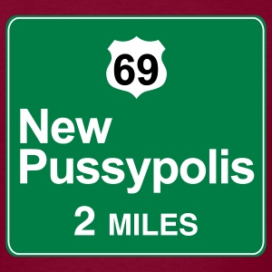 New Pussypolis wonder t-shirt - Men's T-Shirt