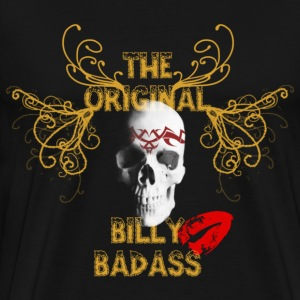 Black original billy badass T-Shirts - Men's Premium T-Shirt