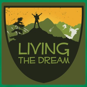 Men's Living the Dream T-Shirt - Men's Premium T-Shirt