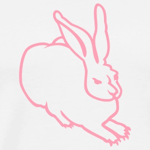White rabbit (AD, 1c) T-Shirts - Men's Premium T-Shirt
