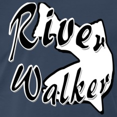 Navy RIVER WALKER T-Shirts