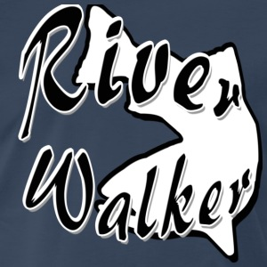 Navy RIVER WALKER T-Shirts - Men's Premium T-Shirt