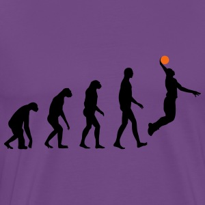 Evolution Basketball T-Shirts - Men's Premium T-Shirt