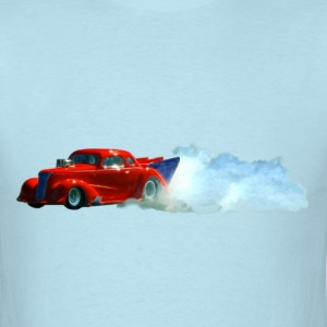Red Door-Slammer Drag Car - Men's T-Shirt